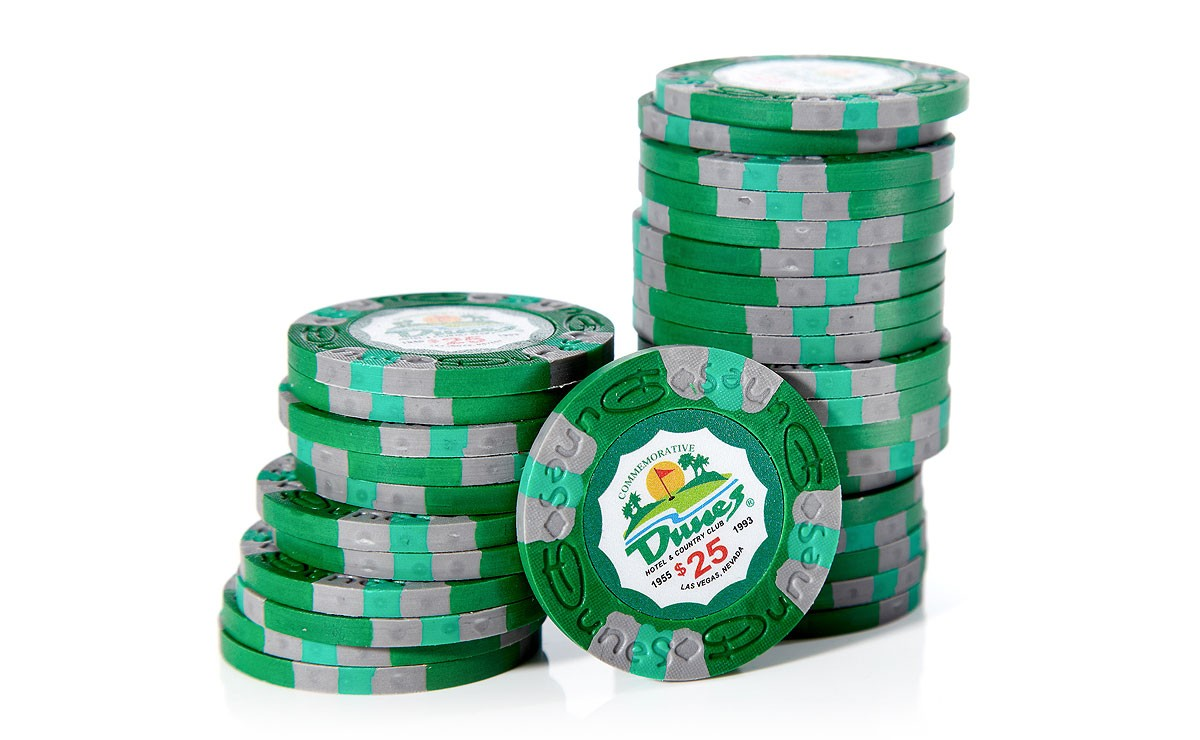 Dunes casino poker chips tropicana casino and resort
