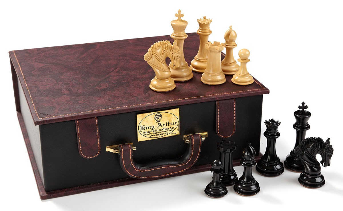 Wooden Chess Set Luxury