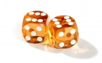 Saffron Backgammon Precision Dice (2)