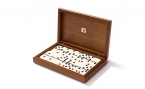 Dominoes in Walnut Box (4)