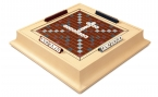 Scrabble Set in Leather - Magnolia (1)