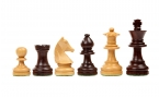 Chess Pieces in Rosewood
