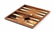 Wood Backgammon Set in Royal Walnut (5)