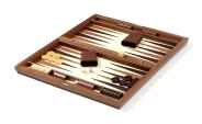Wood Backgammon Set in Briar Root (4)