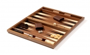 Iridescent Wood Backgammon Set (4)