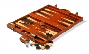 Leather Backgammon Board in Tan (8)