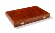 Rosewood Backgammon Set with Racks (4)