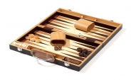 Zebrano Backgammon Set with Racks (4)