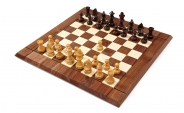 Chess Set in Walnut and Rosewood