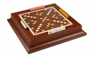 Scrabble Set in Leather - Espresso (1)