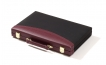 Burgundy Backgammon Set with Black Accent (3)