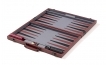 Burgundy Backgammon Set with Black Stripe (2)