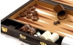 Cork Backgammon Set in Brown (2)