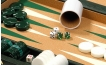 Cork Backgammon Set in Green (2)