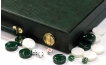 Cork Backgammon Set in Green (3)