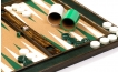 Cork Tabletop Backgammon Set in Green (2)