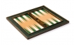 Cork Tabletop Backgammon Set in Green (3)
