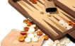 Backgammon Set in Brown Cialux (2)
