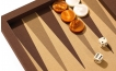 Backgammon Set in Brown Cialux (3)