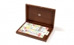 Color Dominoes Set in Briar-Root Wooden Case (4)