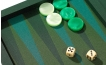 Backgammon Set in Green Cialux (3)
