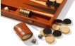 Leather Backgammon Board in Tan (4)