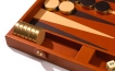 Leather Backgammon Board in Tan (5)