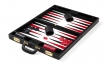 Leather Backgammon Set in Black (3)