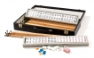 Mah Jong Set in Black Leatherette Case (3)