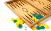 Oak Tree with Double Wedges Backgammon Set (2)