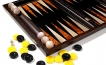 Palisander Backgammon Set with Racks (2)