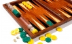 Rosewood Backgammon Set with Racks (2)