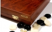 Rosewood Backgammon Set with Racks (3)