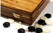 Zebrawood Backgammon Set with Racks (3)