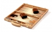 Oak Wood Backgammon Set (4)