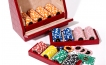 Poker Set in Red Crocodile Leather (5)