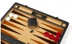 Attache Backgammon Set with Dk. Beige Velour Field (2)