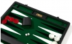 Attache Backgammon Set with Green Velour Field (3)