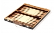 Zebrano Backgammon Set with Racks (2)