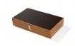 Wood Backgammon Set in Zebrawood (2)