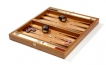 Wood Backgammon Set in Zebrawood (3)