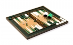 Cork Tabletop Backgammon Set in Green (4)