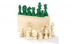 Chess Pieces in Green (3)