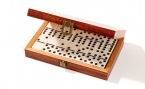 Double 6 Dominoes Set in Camphor Case (4)