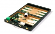 Cork Backgammon Set in Green (5)