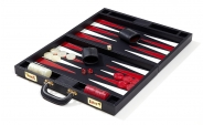 Leather Backgammon Set in Blue (3)