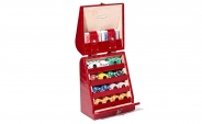 Poker Set in Red Crocodile Leather (7)