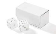 Swarovski Crystal Dice Set in Alligator Case (2)
