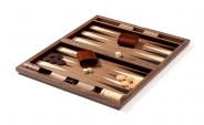 Starburst Design Wood Backgammon Set (4)
