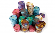 Aristocrat Clay Poker Chips Set